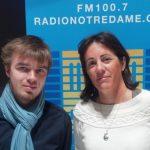 Xavier Bongibault témoigne aux côtés de Nathalie de Willencourt, fondatrice d'Homovox, à la radio catholique Radio Notre Dame le 15 novembre 2012.