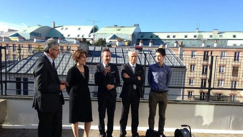 «L'ancien appartement de Frigide Barjot transformé en colocation pour étudiants boursiers»