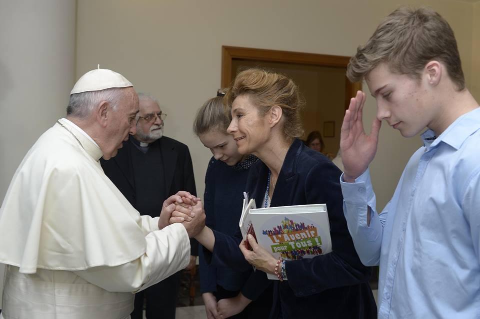 Frigide Barjot reçue par le Pape : la revue de presse