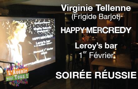 Conférence au Leroy's : soirée réussie !