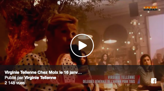 À LA UNE ! Mercredi 16 janvier 2019 – Une première sur Paris Première !