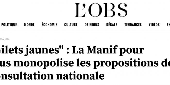 ARTICLE DU NOUVEL OBS' : L'AMALGAME ÇA SUFFIT !